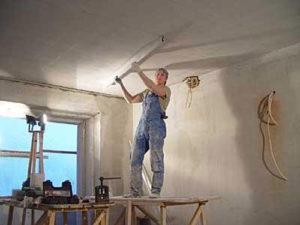 Как выровнять потолок своими руками. Часть 1 - Выравнивание потолка