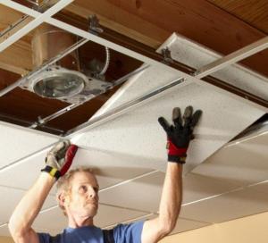 Как выровнять потолок своими руками. Часть 2 - Потолки подвесные