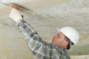 Как выровнять потолок своими руками. Часть 1 - Нанесение шпатлевки