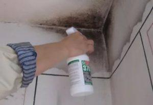 Как выровнять потолок своими руками. Часть 1 - Удаление плесени
