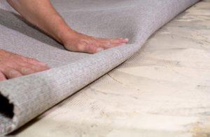 Чистый пол под ковролин