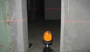 Бетонная стяжка - Нулевой уровень или нанесение разметки