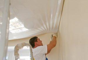 Как выровнять потолок своими руками. Часть 2 -Натяжные потолки