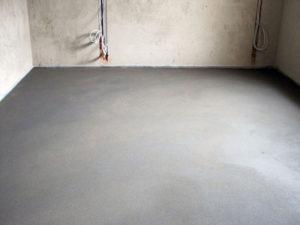 Готовность бетонной стяжки