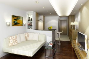 Дизайнерский ремонт однокомнатной квартиры