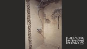 Плиточные работы в ванной